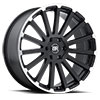 TSW Spear Alloy Wheels Matte Black with Matte Machine Lip Edge