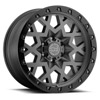 TSW Sprocket Alloy Wheels Matte Gunmetal w/Black Lip Edge