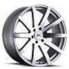 TSW Traverse Alloy Wheels Silver with Machine Cut Face
