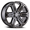TSW Wanaka Alloy Wheels Matte Gunmetal w/ Brushed Face & Gunmetal Tint (6x139.7 only)