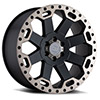 TSW Warlord Alloy Wheels Matte Black with Machined Dark Tint Lip